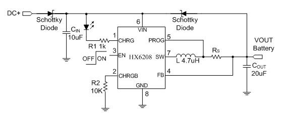 如果电池没有响应,则电池检测电路将发出一个指示信号,并暂停充电操作